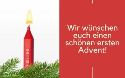 Schönen ersten Advent!🎄