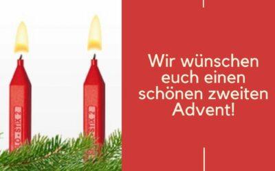 Schönen zweiten Advent und wunderschönen Nikolaustag!🎄