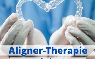 Aligner-Therapie: Ablauf 🦷
