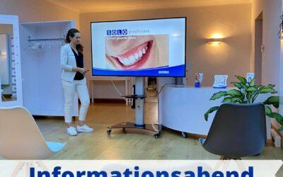 Informationsabend zum Thema Zahngesundheit!🦷